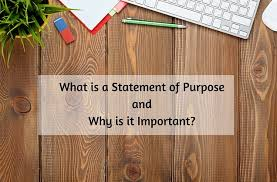 Important Steps To Consider While Writing A Statement Of Purpose